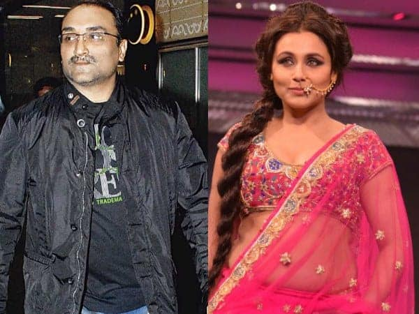 Rani Mukerji and Aditya Chopra Wedding Pictures