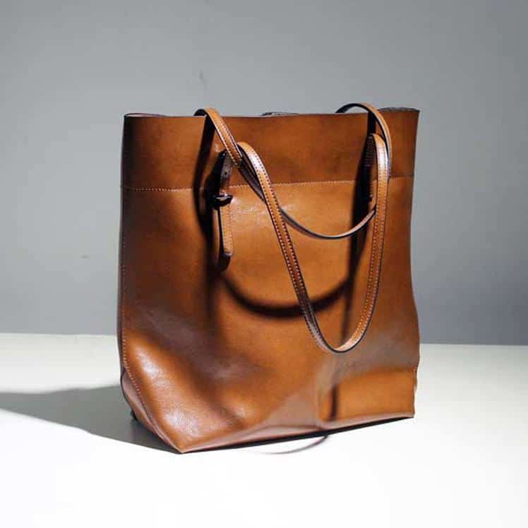 Real Leather Shoulder Bag for Ladies