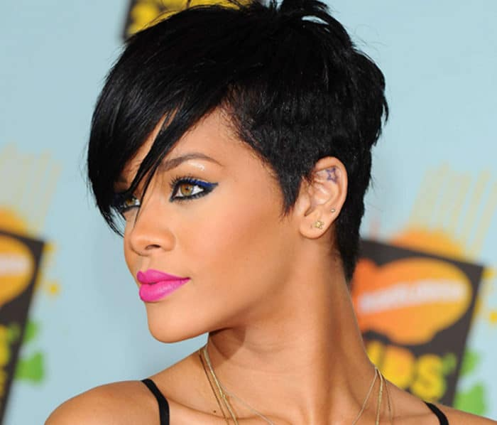 Rihanna Virtual Haircut for 2016