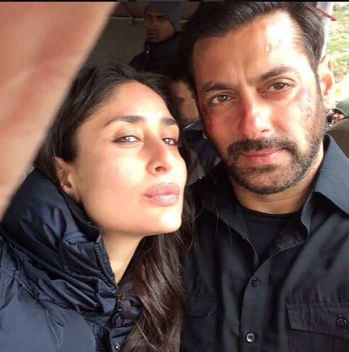 Salman Khan Selfie With Kareena Kapoor