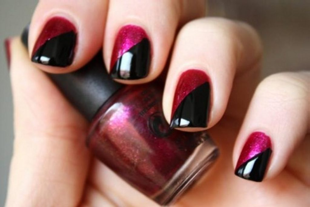 Simple Nail Polish Designs for Party