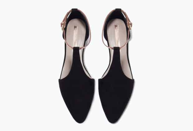 Stunning Dressy Black Flat Shoes