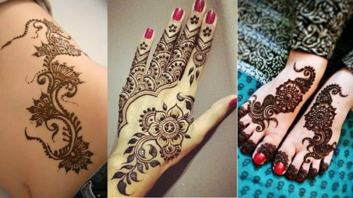 Best Henna Designs: 30 Latest And Cool Easy Henna Designs 2017