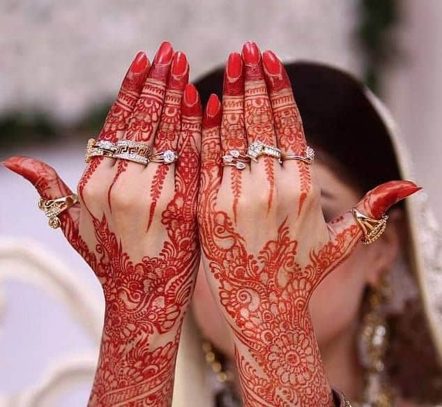 Traditional Bridal Mehndi Designs for Hand 2016