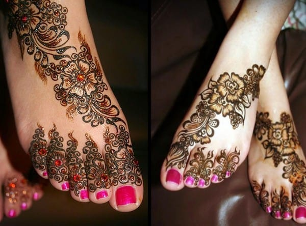 trendy-arabic-henna-feet-design-art-for-brides