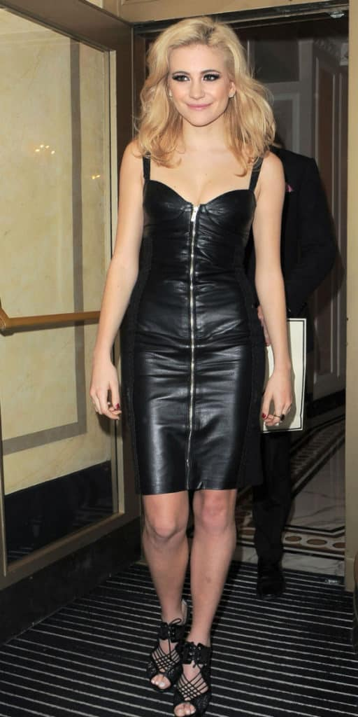 Trendy Black Leather Dress for 2016