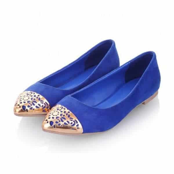 Trendy Blue Flat Dress Shoes 2016