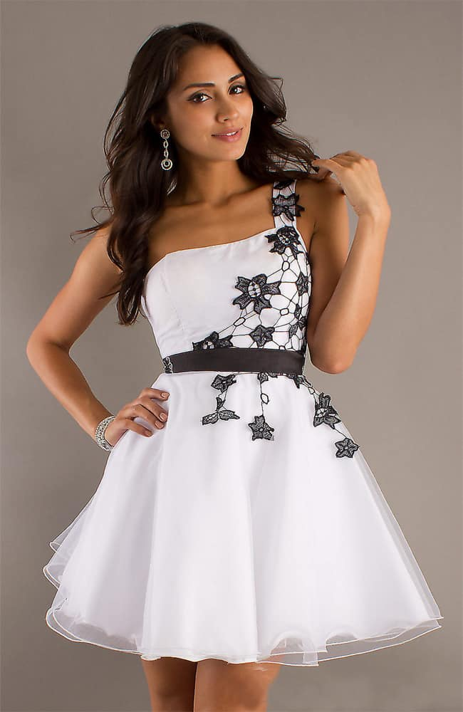 Valentine's Day Cocktail Party White Dresses