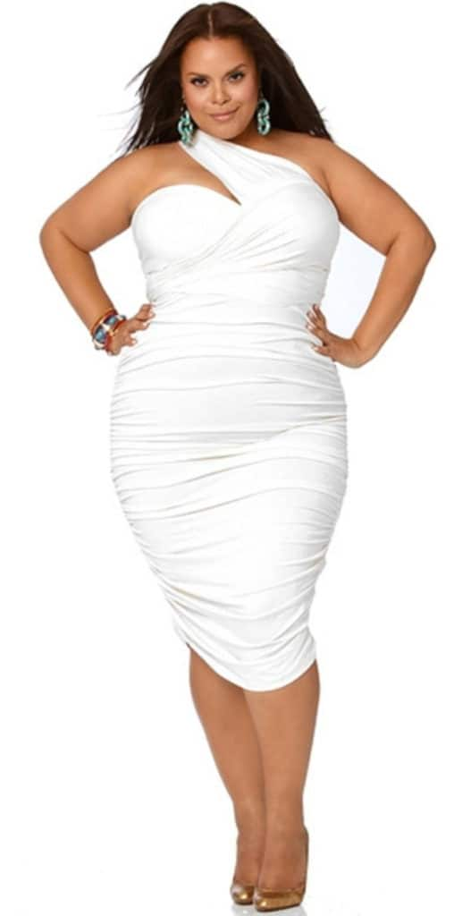 White Dress for Plus Size Women