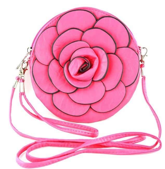 Women Leather Handbags for Valentine Day Party