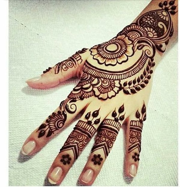 Women Mehandi Arabic Designs 2016