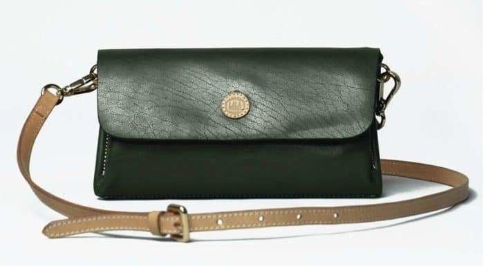 Women Messenger Leather Bag for Party