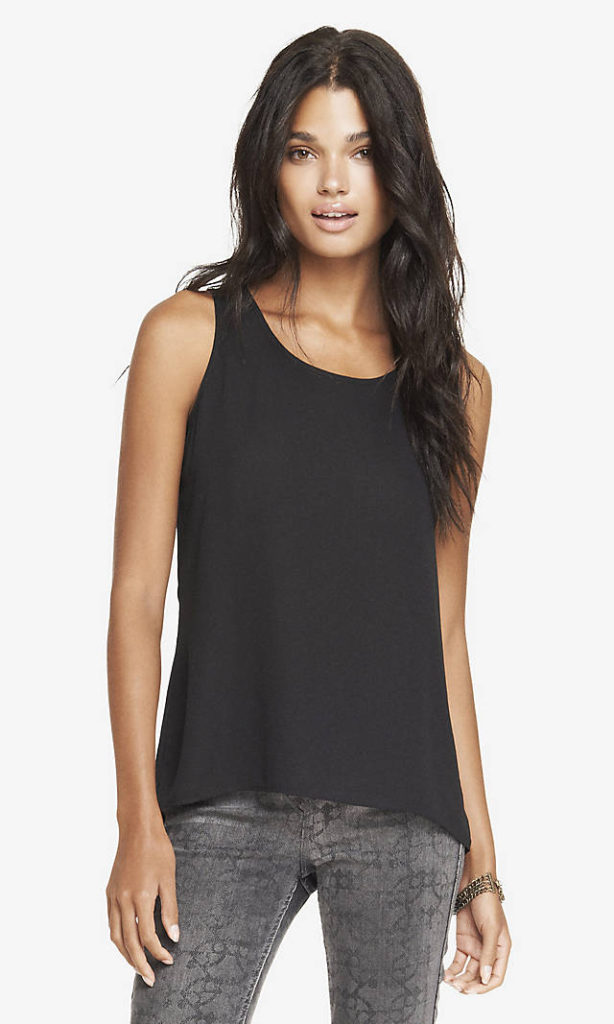 Womens Causal Going Out Black Tops