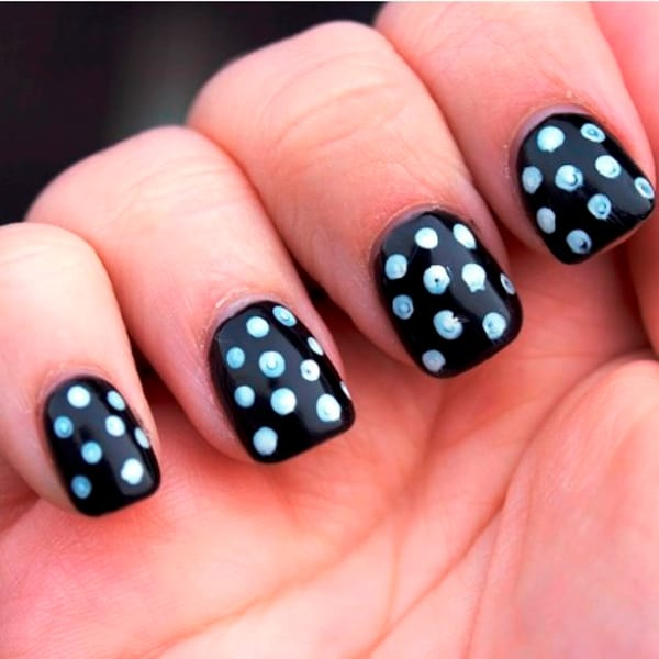 30 Cool Easy Nail Polish Designs 2017 SheIdeas