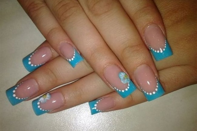 Acrylic Nails French Manicure Designs 2016