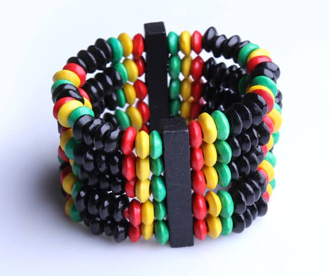 African Beaded Bracelets Patterns for Christmas