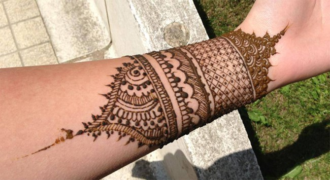 Amazing Wedding Henna Wrist Designs