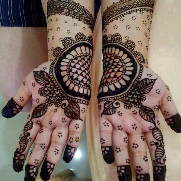 Attractive Henna Designs for Weddings 2016