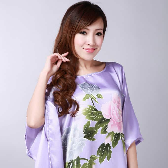 Awesome Floral Night Dresses Designs