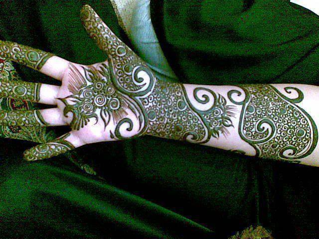 Awesome Full Hand Mehndi Designs Images 2016