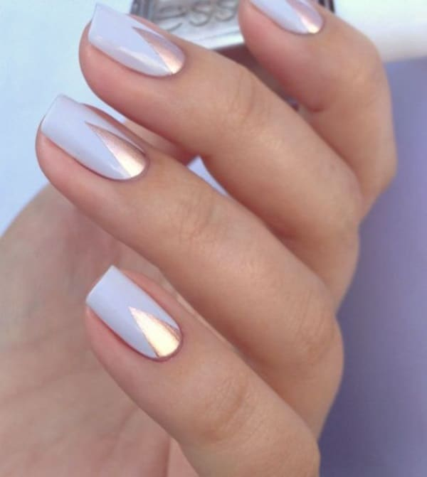 Awesome Nail Color Art Design