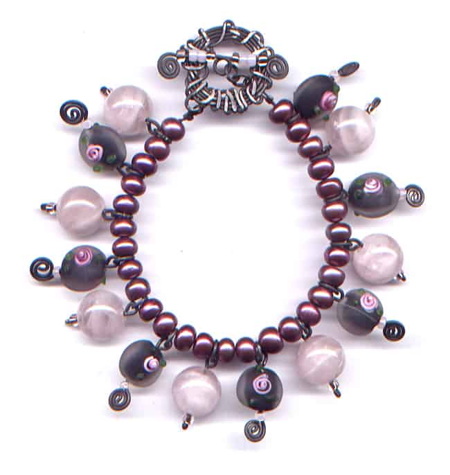 beautiful flower bracelet design ideas for girls - Beaded Bracelet Design Ideas