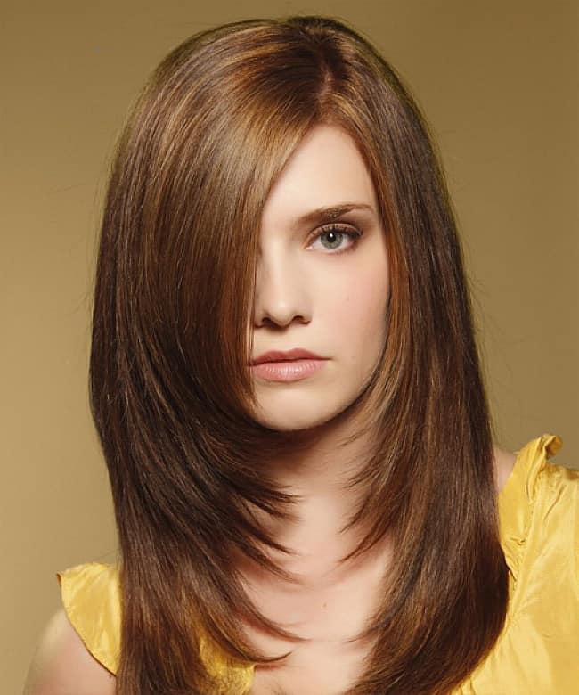 Beautiful Girl Long Layered Hairstyles 2016