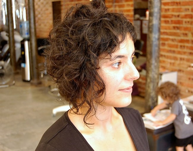 Beautiful Short Curly Edgy Haircuts for Girls 2016