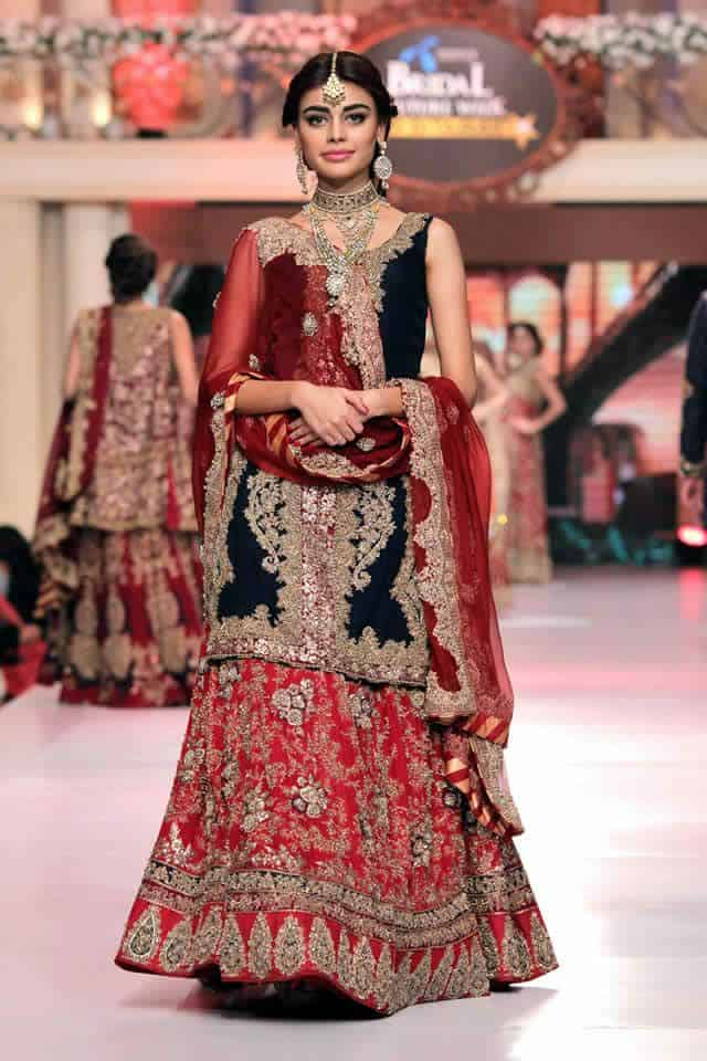 Beautiful Wedding Lehenga Choli Designs 2016