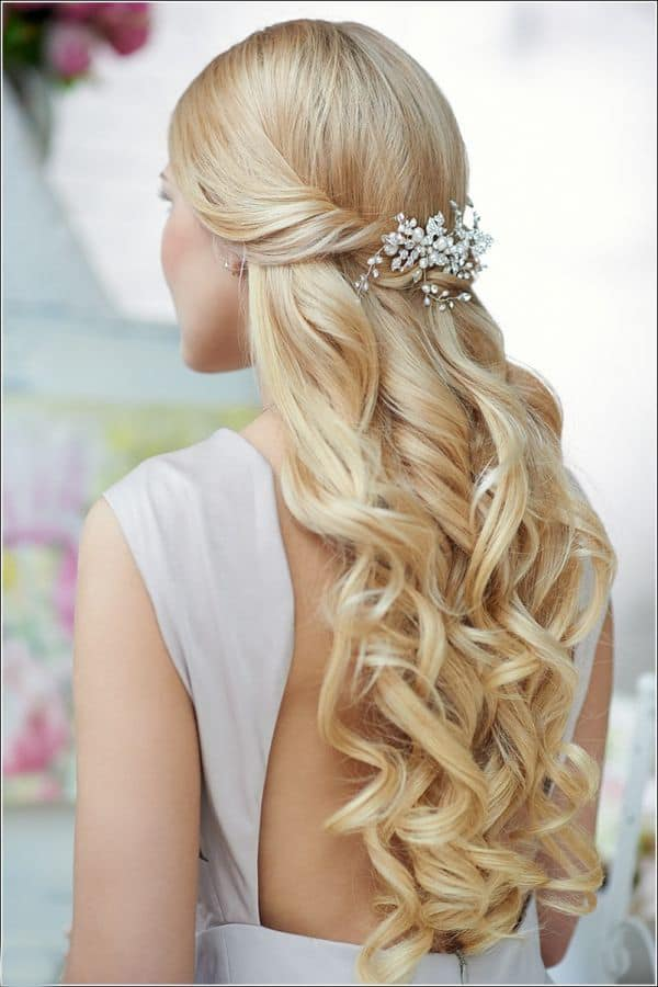 Cool Prom Hairstyles For Long Hair Down 2017