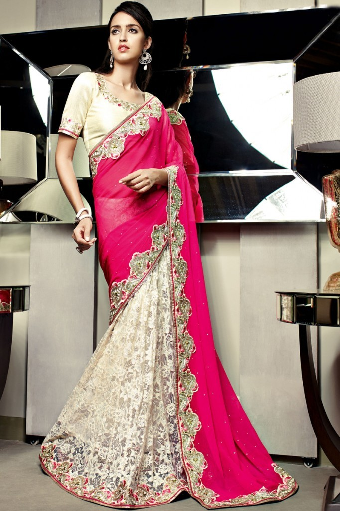 Bollywood Evening Wear Sarees for Brides 2016