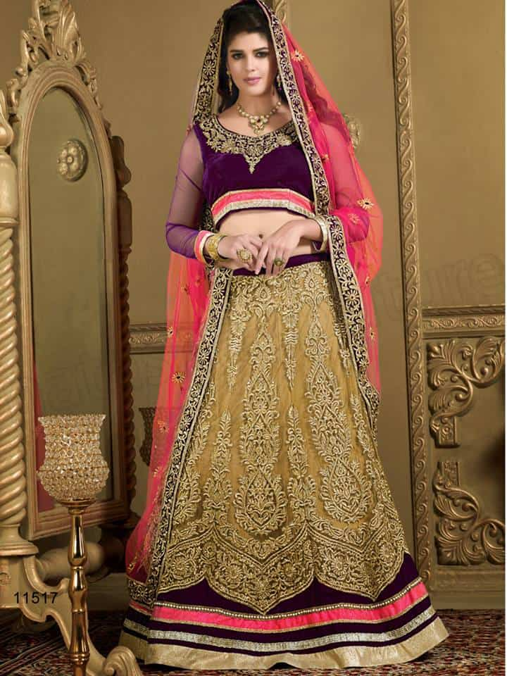 Bollywood Wedding Lehenga Choli Designs 2015