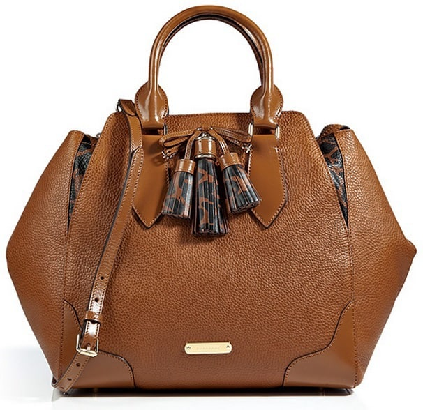 Burberry Leather Handbags With Long Strap 2016