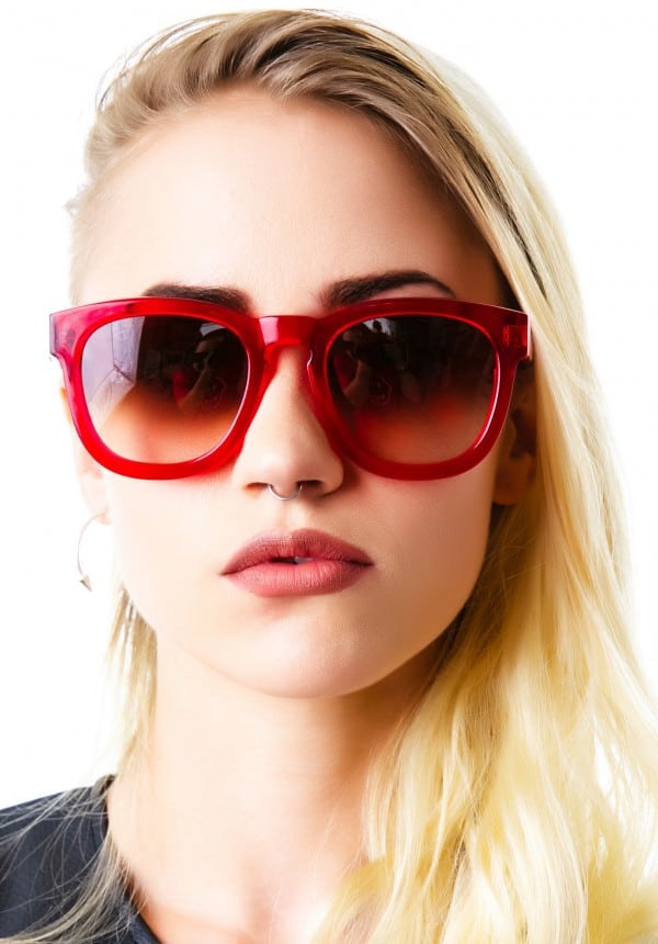 Classic Wild Fox Sunglasses for College Girls
