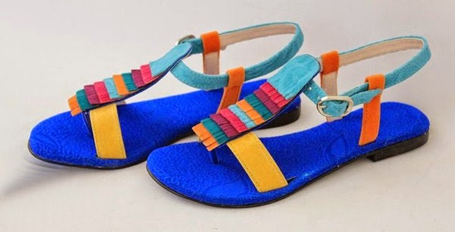Cool Blue Patch Shoe Brand for Teen Girls