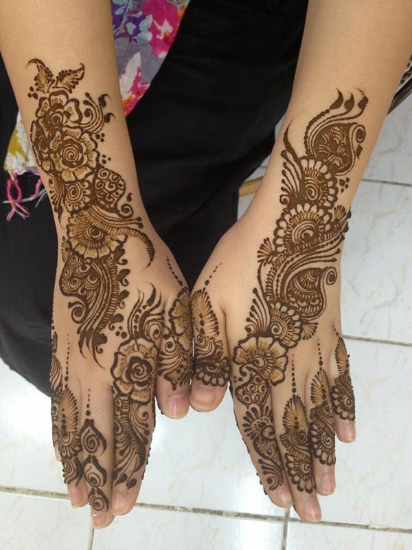 20 Latest Bridal Mehndi Designs For Wedding 2017  SheIdeas