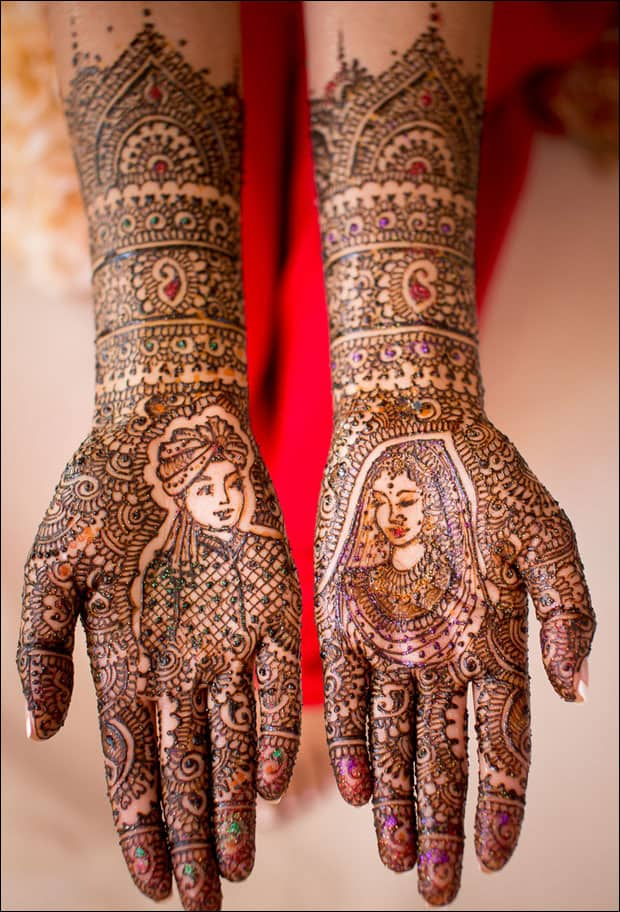 20 Latest Bridal Mehndi Designs for Wedding 2017 - SheIdeas