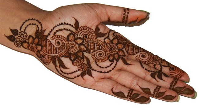 Cool Full Hand Mehndi Designs Step by Step