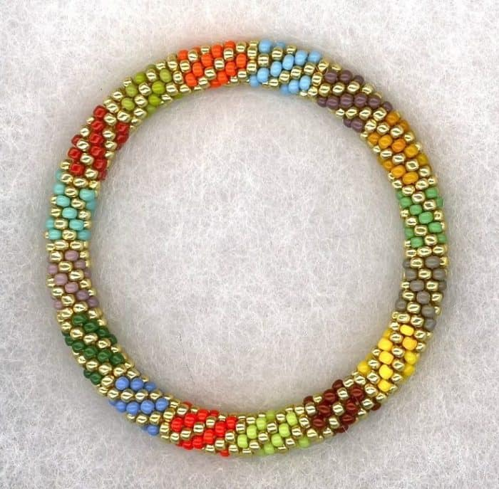 turquoise mix beaded bracelet design ideas - Bracelet Design Ideas