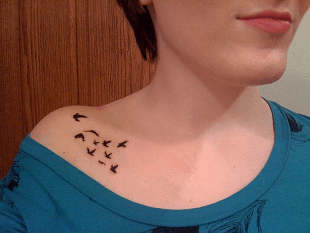 Cute Small Tattoos Ideas for Girls 2016