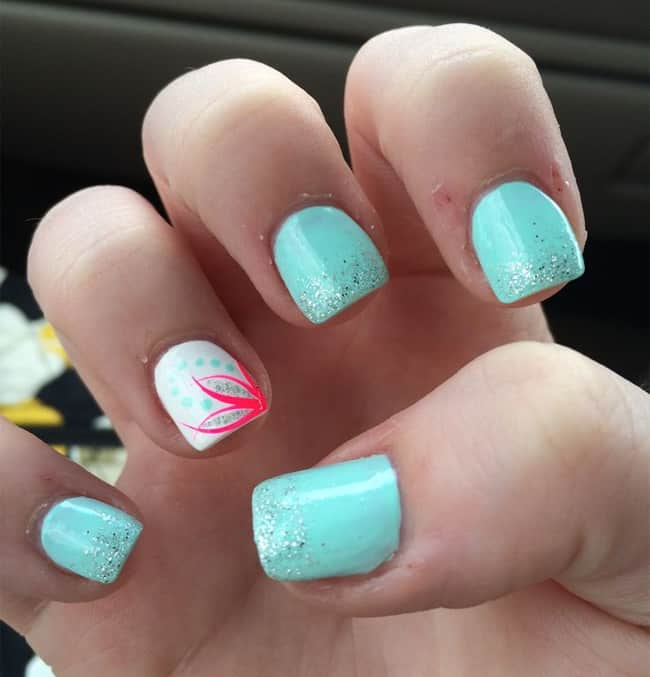 13 Nail Art Ideas For Teeny Tiny Fingertips Photos: 30 Super Pictures Of Pretty Nail Designs