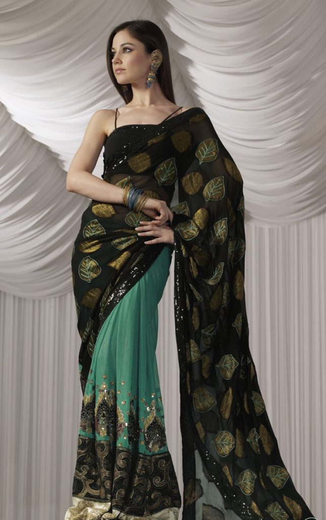Designer Party Wear Sarees for Evening 2016