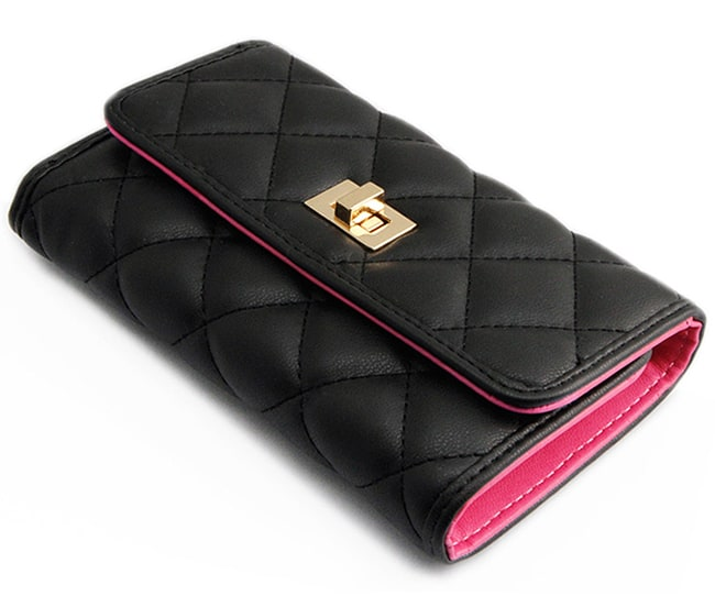 Designer Women Black Wallets for Party