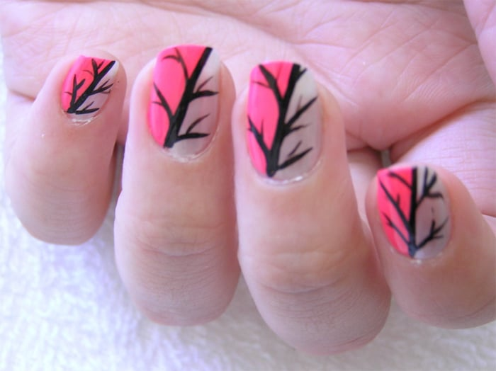 18 trendy nail art ideas for long nails 2016