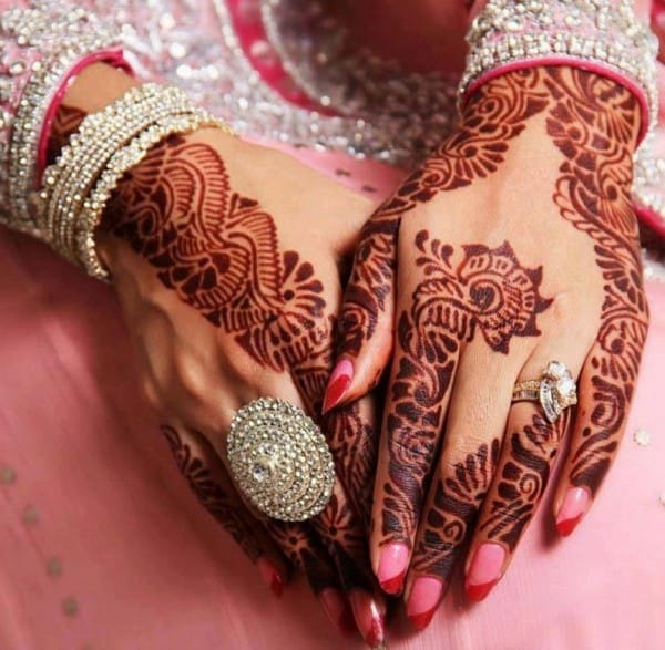 Mehndi Designs For Nails : Beautiful mehndi designs for wedding sheideas