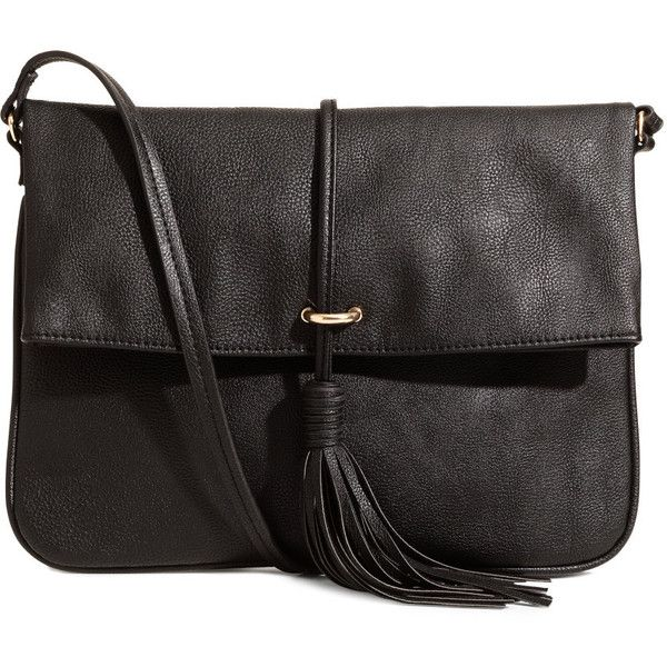 Elegant Black Handbag With Shoulder Strap