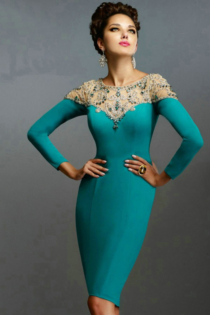Elegant Long Sleeve Party Dresses for Women