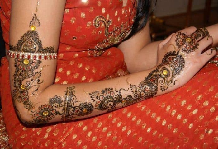 Full Hand Henna Design for Bridal 2016