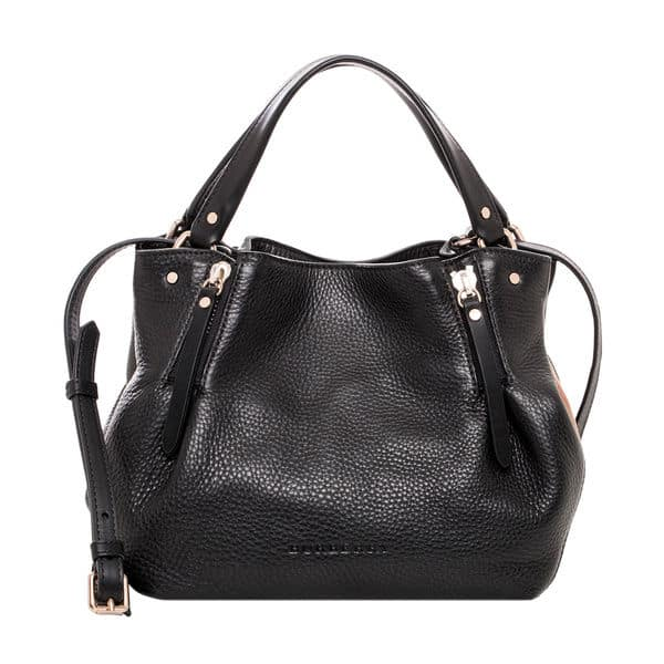 Girls Black Leather Burberry Handbag Ideas