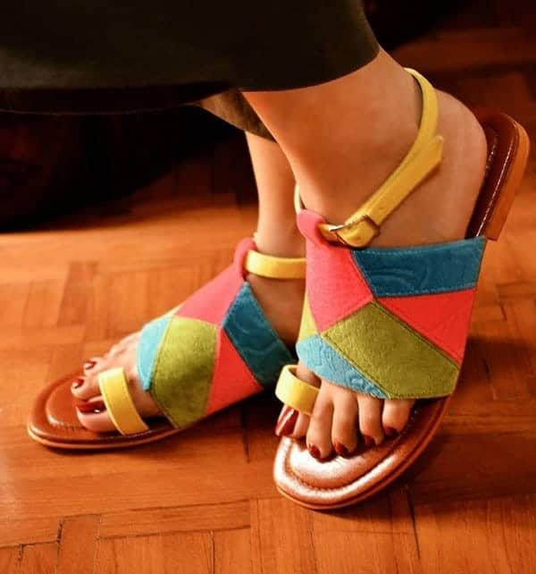 Girls Patch Sandals Trend for Winter